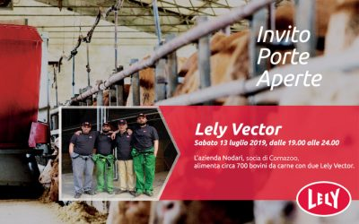 Invito Porte Aperte – Lely Vector
